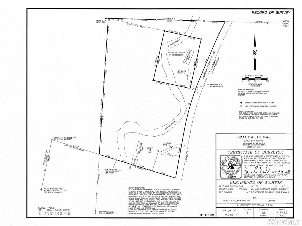 18325 Johnson Creek Rd SE Tenino WA 98589